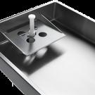 Hachoir sur socle CHANTALAT PROCESS 114 mm